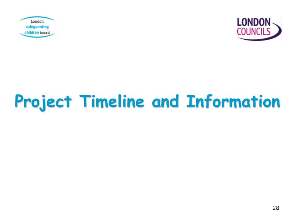 Project Timeline and Information