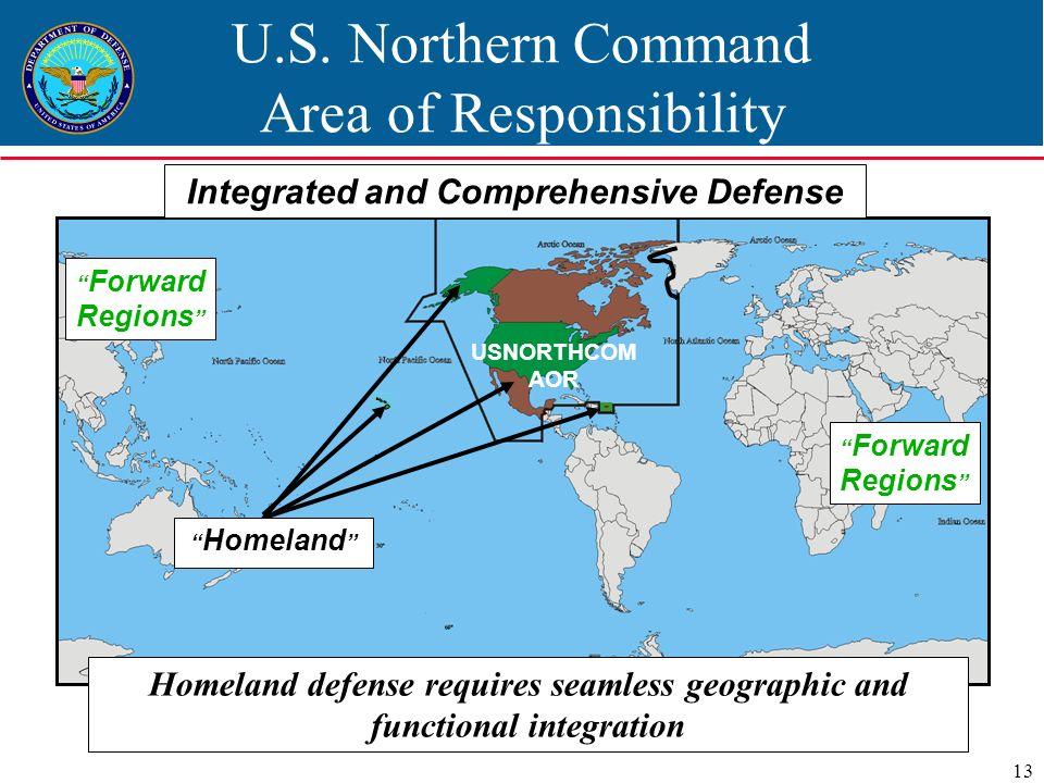 Homeland Defense Peter F Verga Ppt Video Online Download - Us northern command map