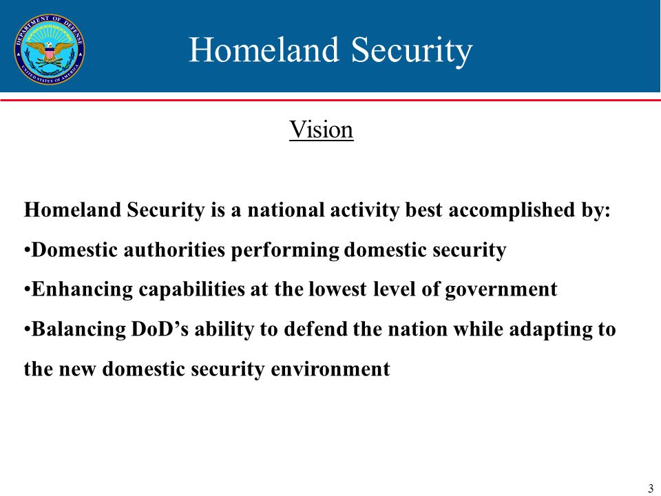 homeland security 4 essay The patriot act, among other things, called for the formation of a homeland  security department, what is basically a permanent federal police force the  main.