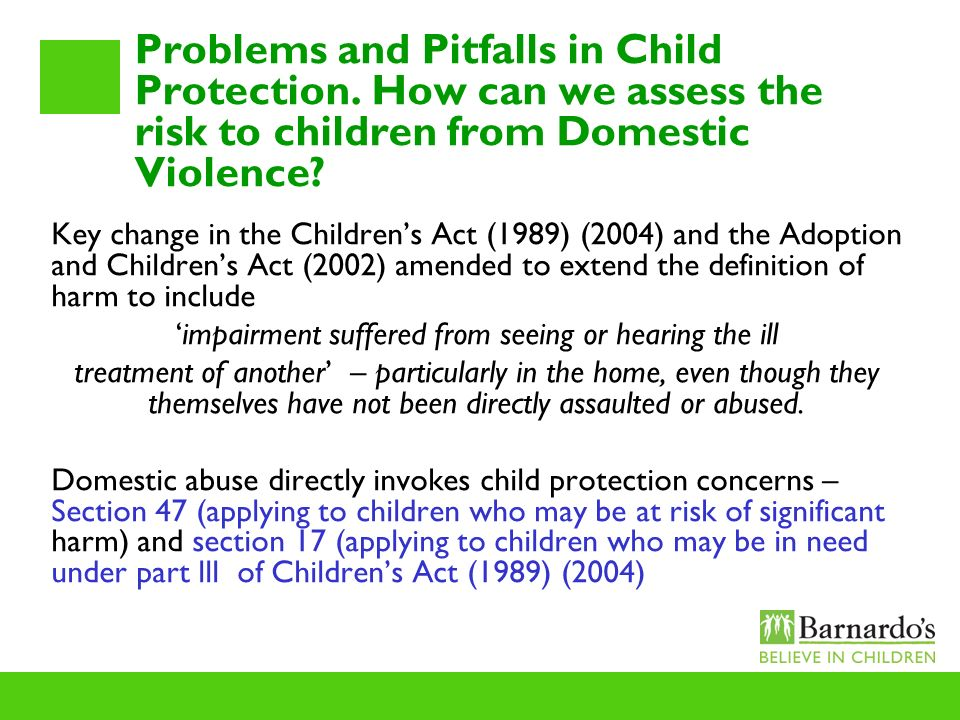 How childrens act 1989 protects children essay