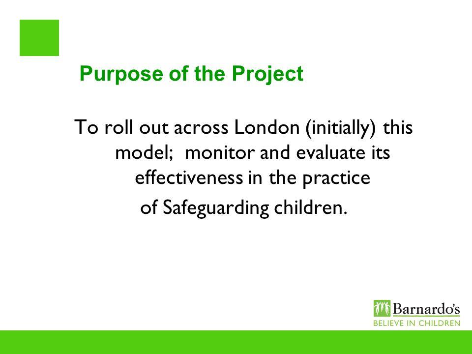 of Safeguarding children.