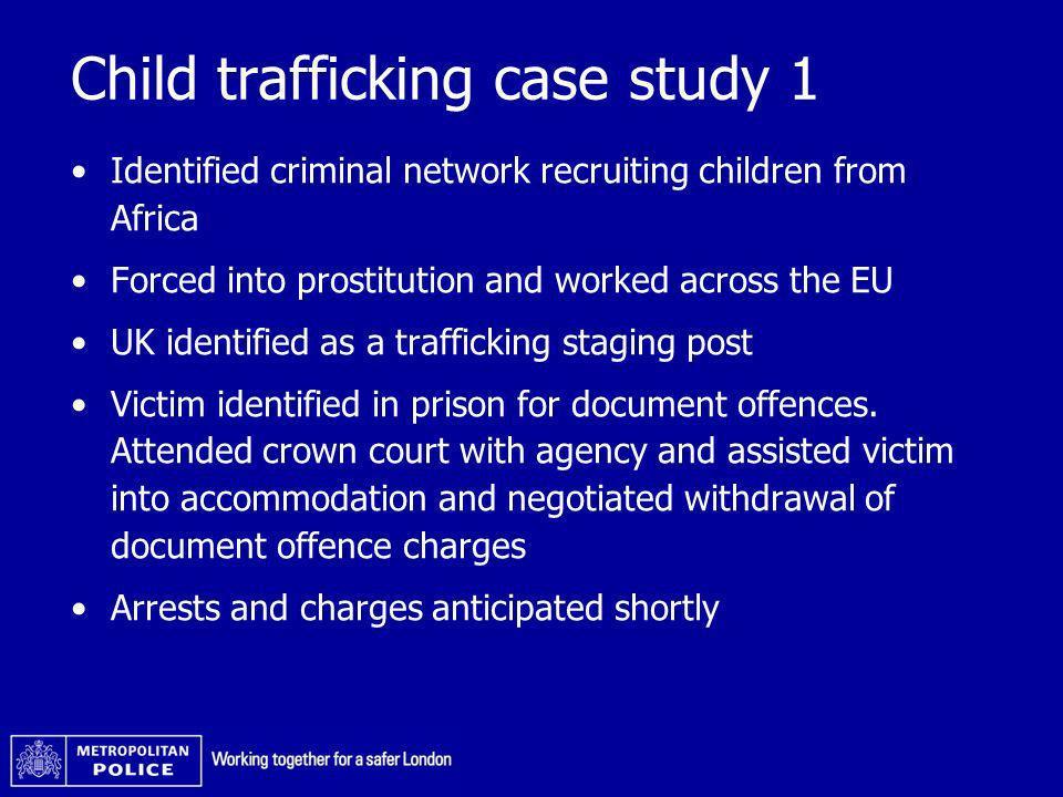 Child trafficking case study 1