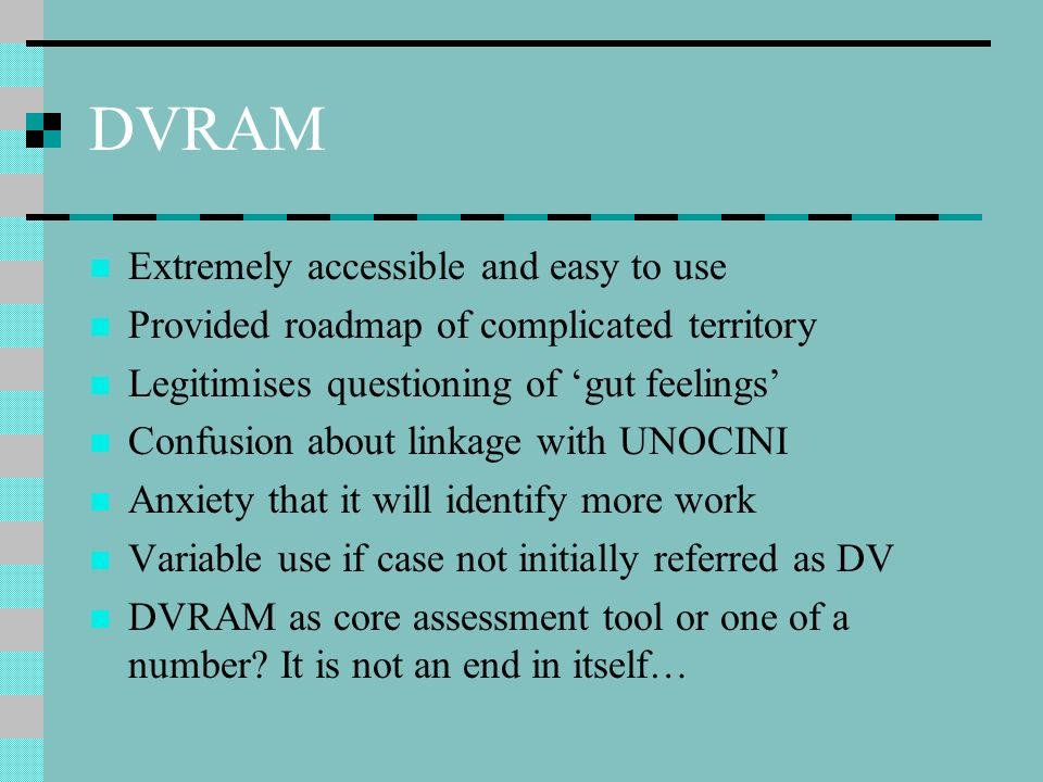 DVRAM Extremely accessible and easy to use