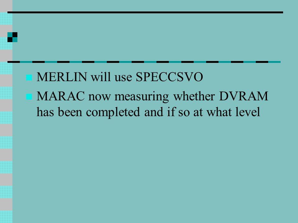 MERLIN will use SPECCSVO