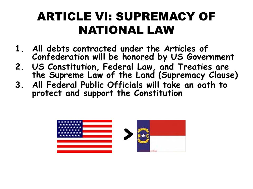 article vi in this usa structure concludes that will united states laws is