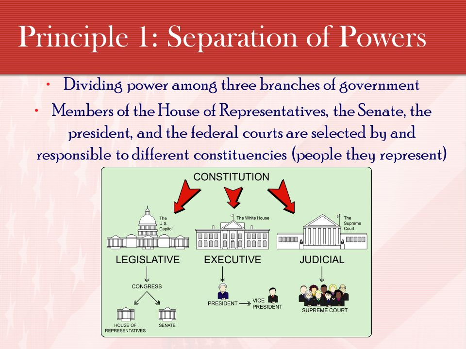 constitutional principles The principles from the french declaration of the rights of man and of the citizen  still have constitutional importance constitutional law is a body of law which  defines the role, powers, and structure of different.