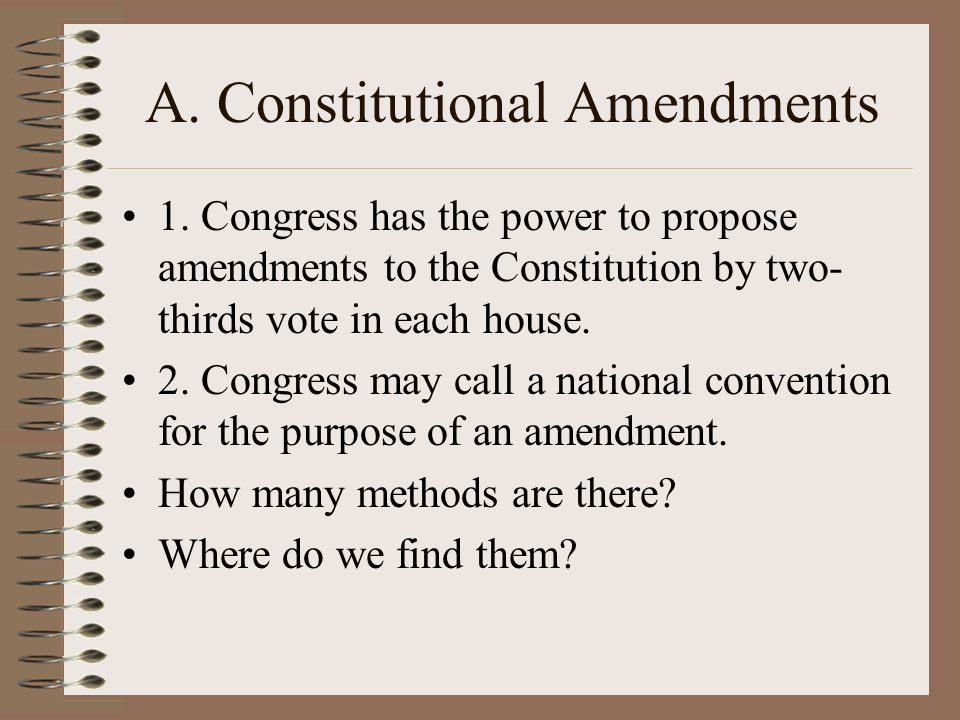 Objective To Understand The Non Legislative Powers Of Congress