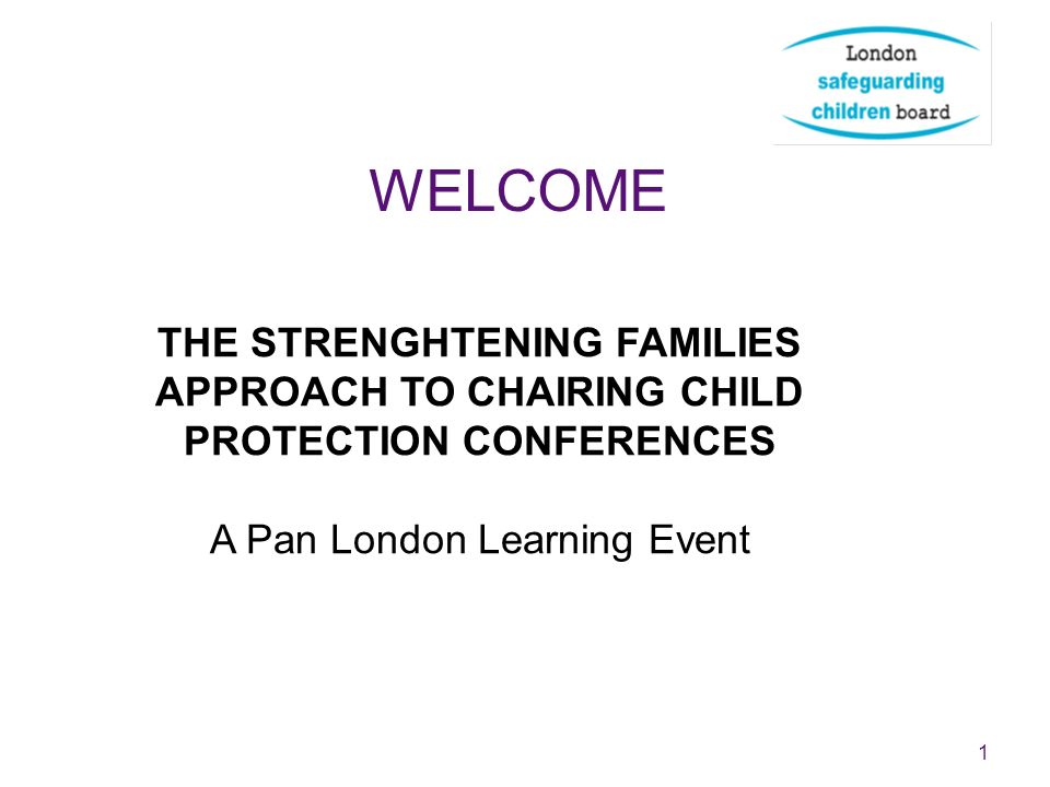 A Pan London Learning Event