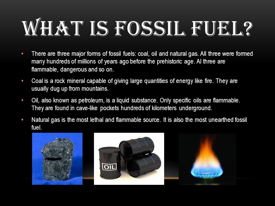 the dangers of fossil fuels