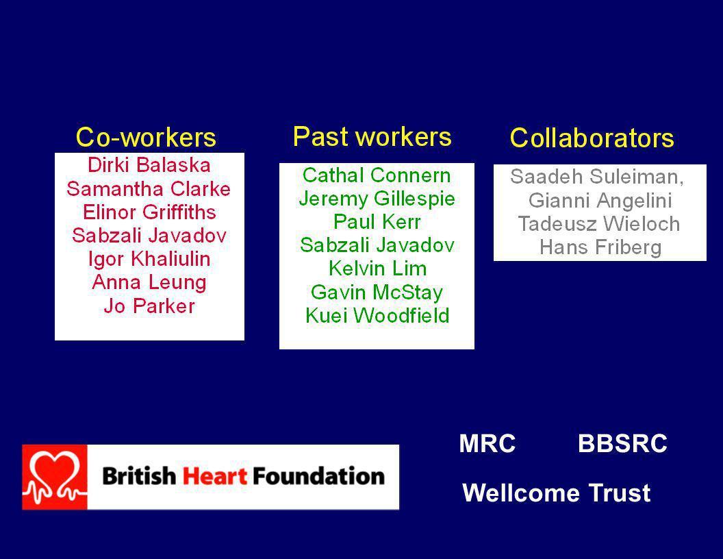 MRC BBSRC Wellcome Trust