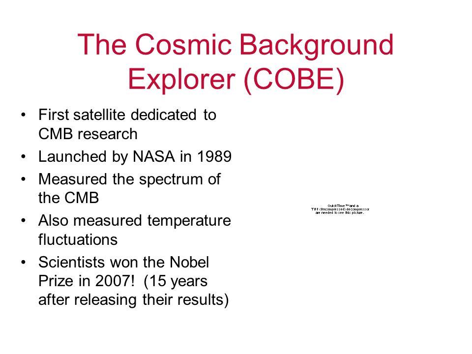 The Cosmic Background Explorer (COBE)