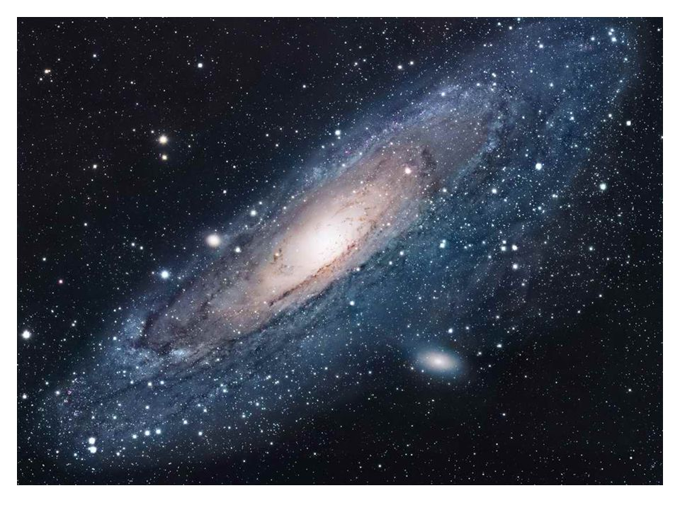 Edwin Hubble Edwin Hubble discovered objects beyond the Milky Way - Andromeda. He realised that these objects are all moving away from us.