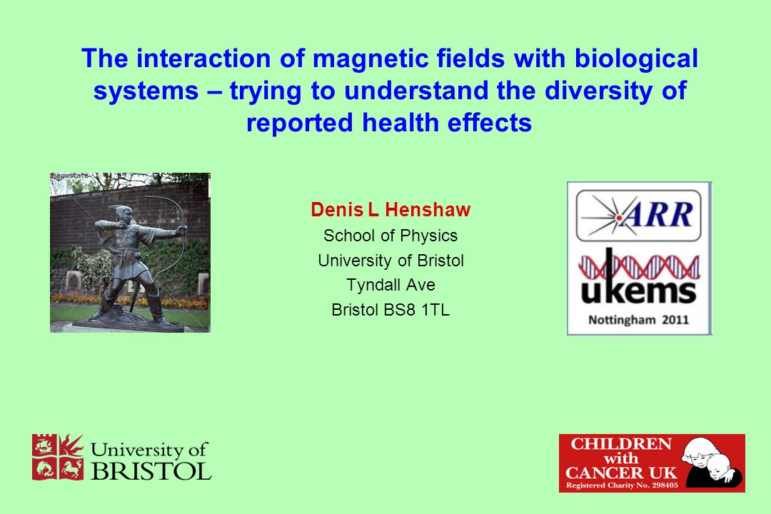 The interaction of magnetic fields with biological systems – trying to understand the diversity of reported health effects