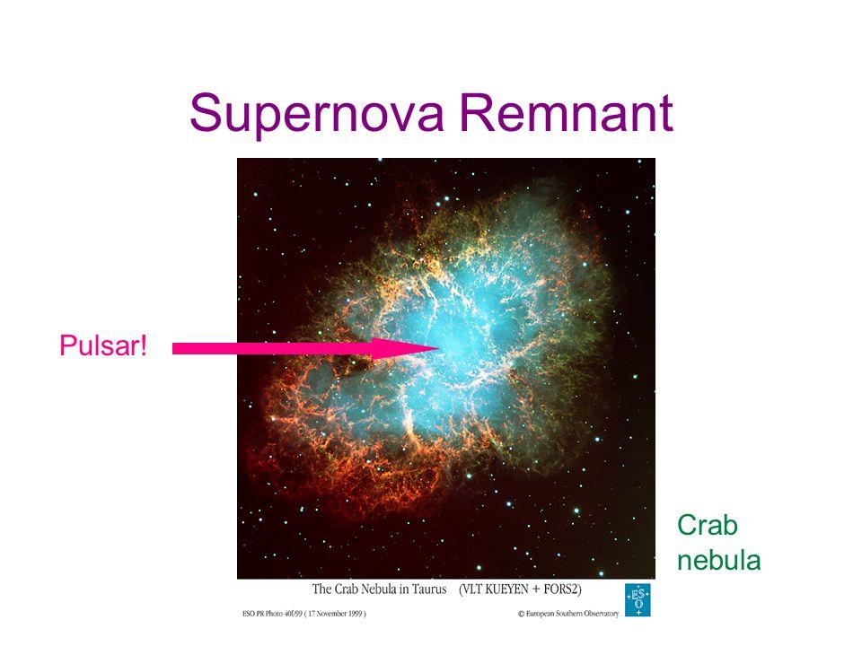 Supernova Remnant Pulsar! Crab nebula