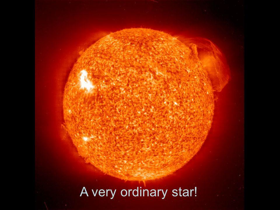 A very ordinary star!