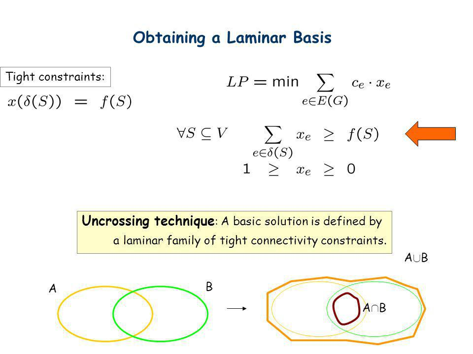Obtaining a Laminar Basis