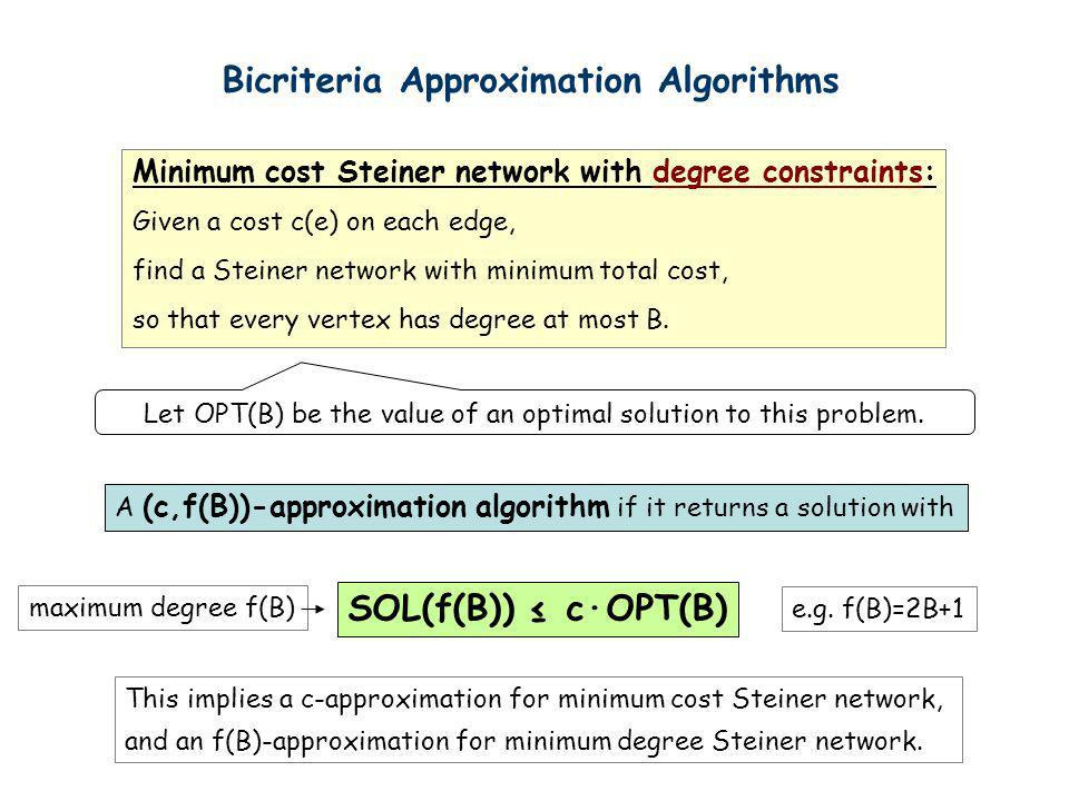 Let OPT(B) be the value of an optimal solution to this problem.