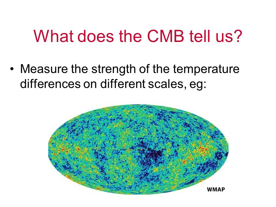 What does the CMB tell us