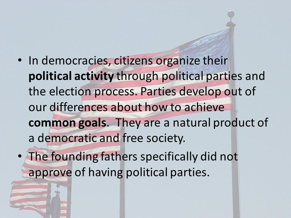 Political Parties & Democracy - ppt video online download