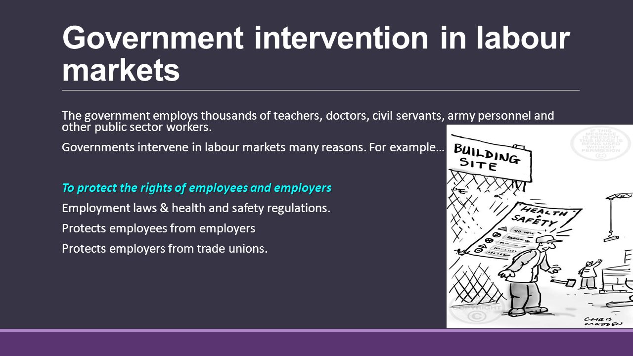 state intervention State investment in education and training  summary - evaluating government intervention in markets how significant is the market failure (consequences).
