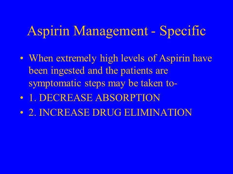 Aspirin Management - Specific