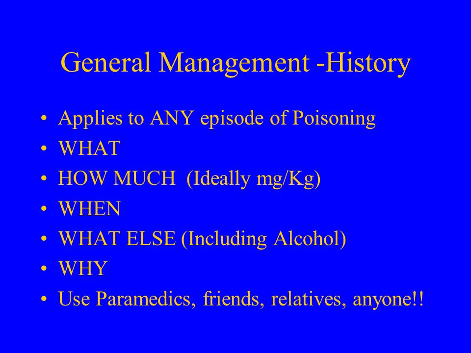 General Management -History