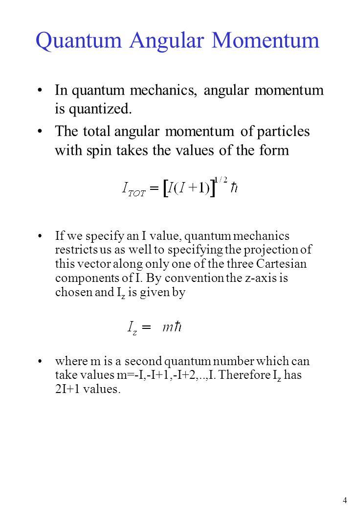 Quantum Angular Momentum