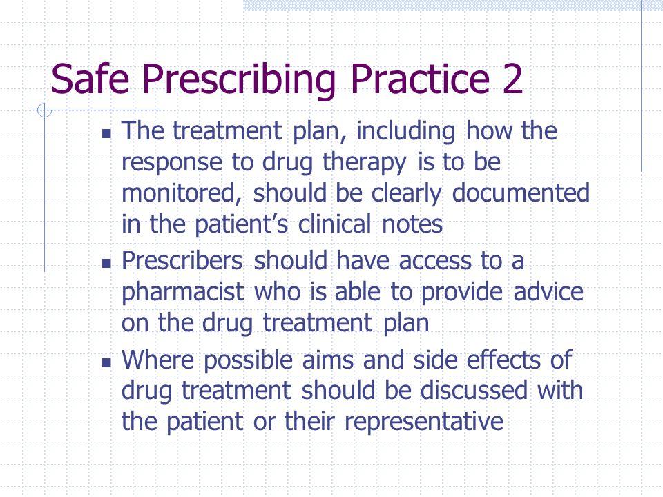Safe Prescribing Practice 2
