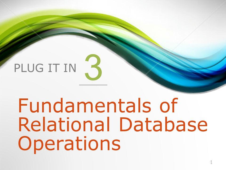 fundamentals of a relational database Compre o livro schaum's outline of fundamentals of relational databases na amazoncombr: confira as ofertas para livros em inglês e importados.