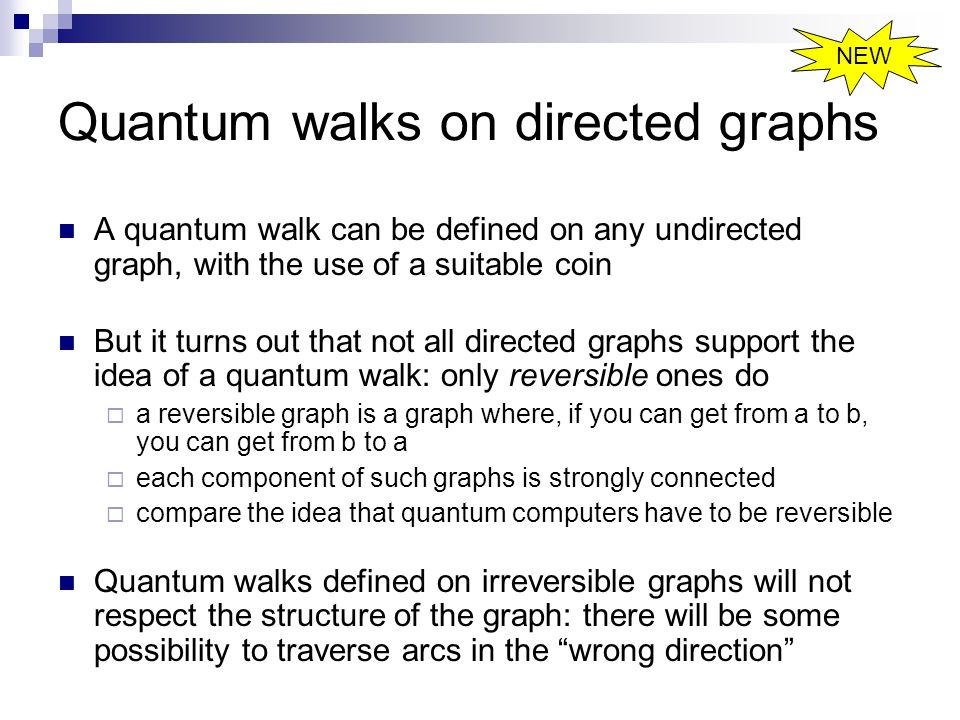 Quantum walks on directed graphs
