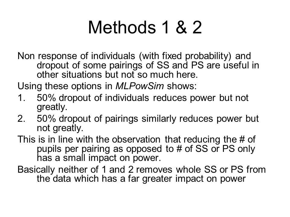Methods 1 & 2