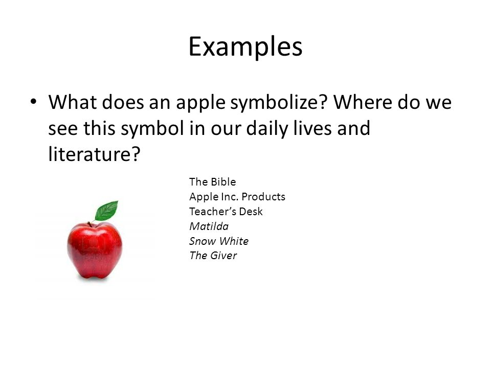 Symbolism In Literature Examples Example Of A Symbol In Literature