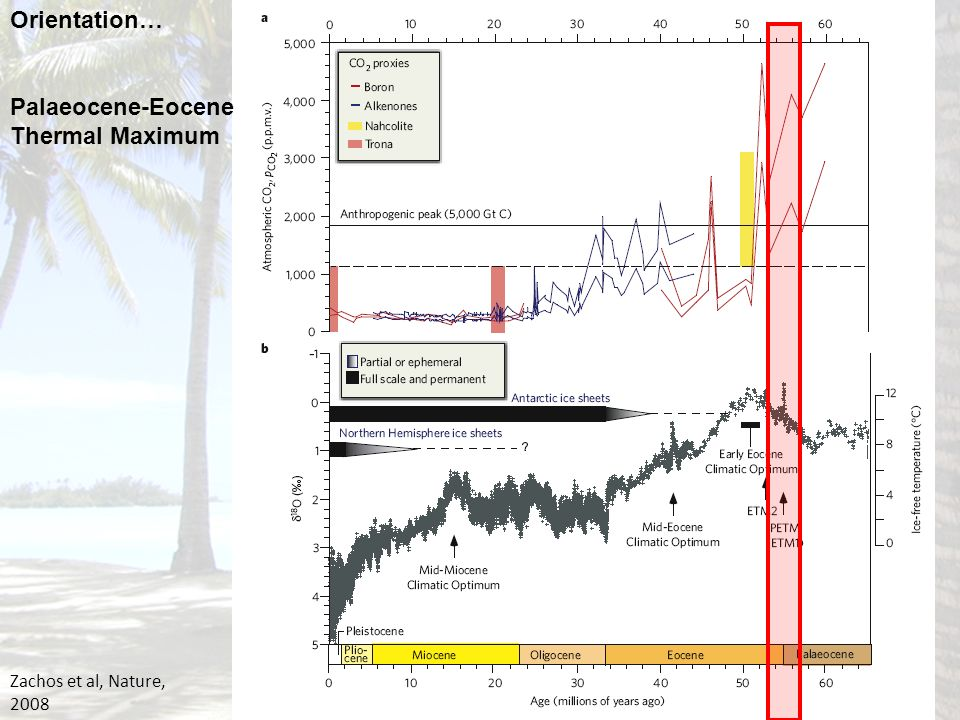 Palaeocene-Eocene Thermal Maximum