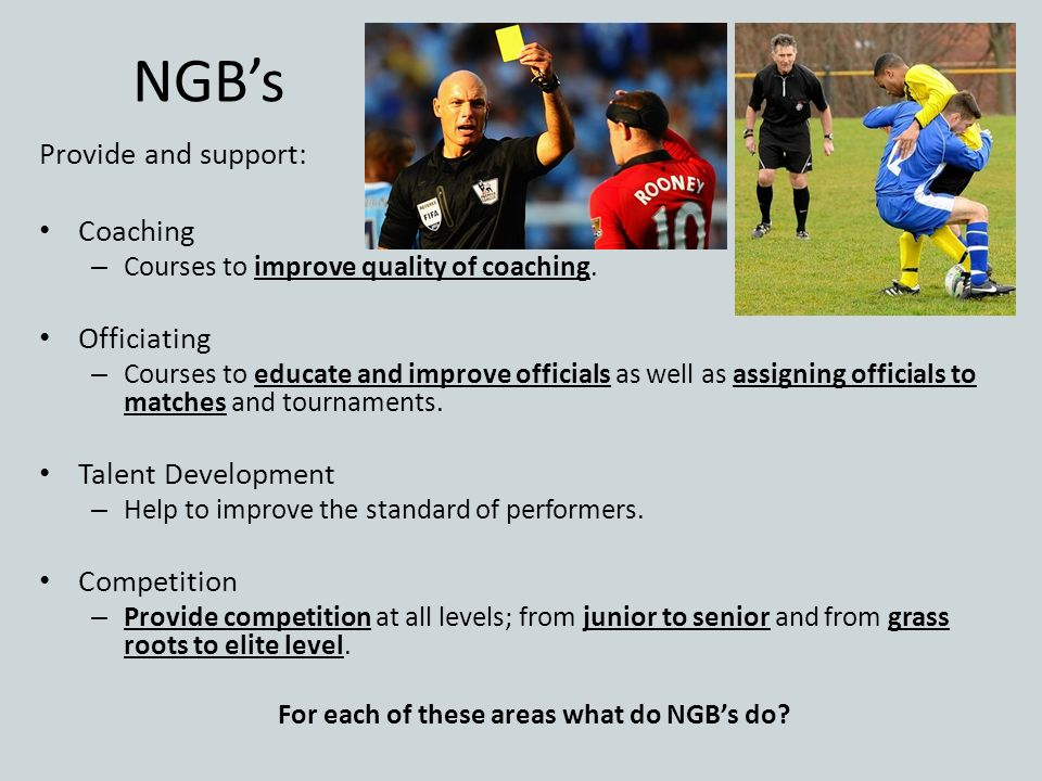 For each of these areas what do NGB's do