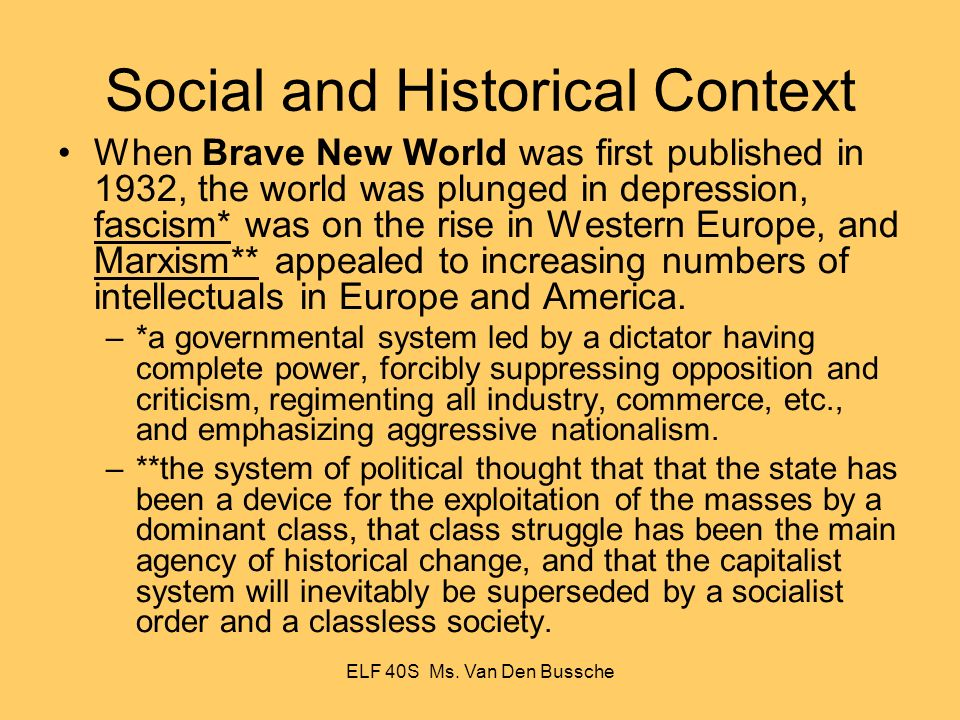 Brave New World Critical Essays