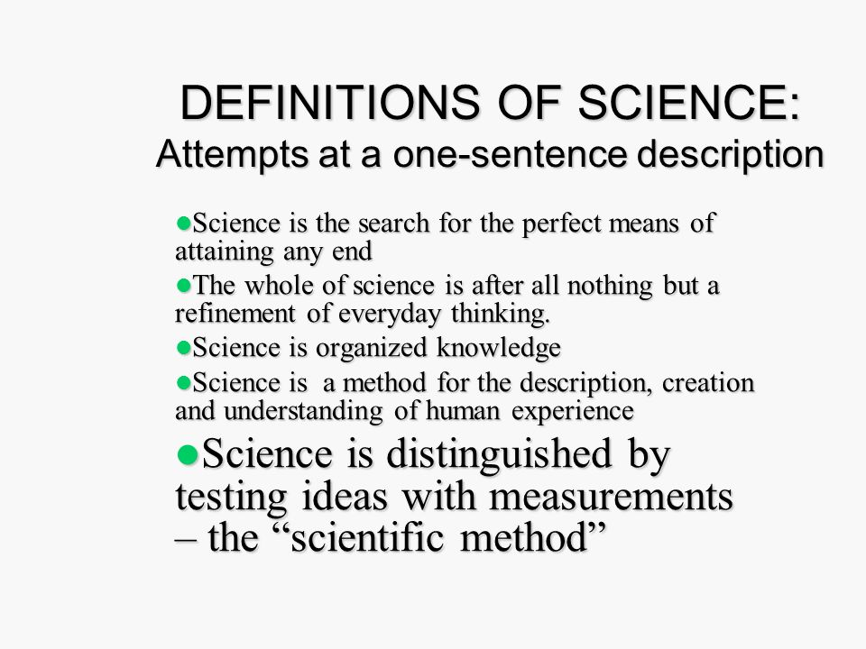 a definition of scientist