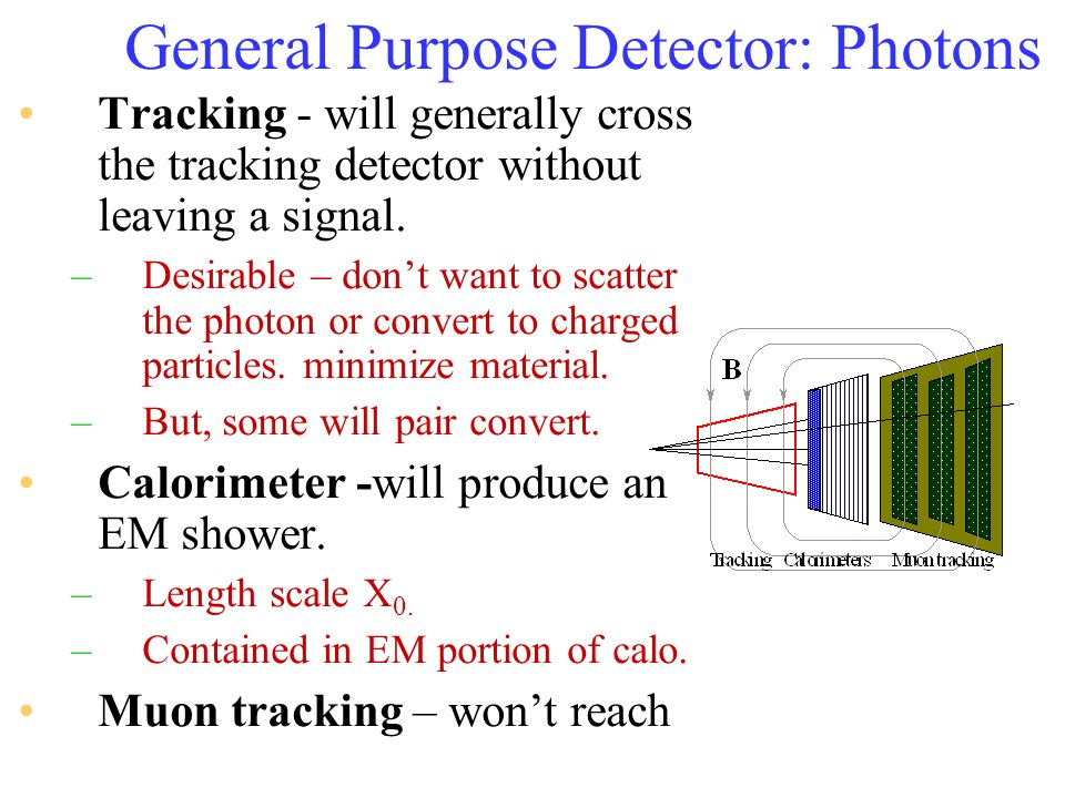 General Purpose Detector: Photons