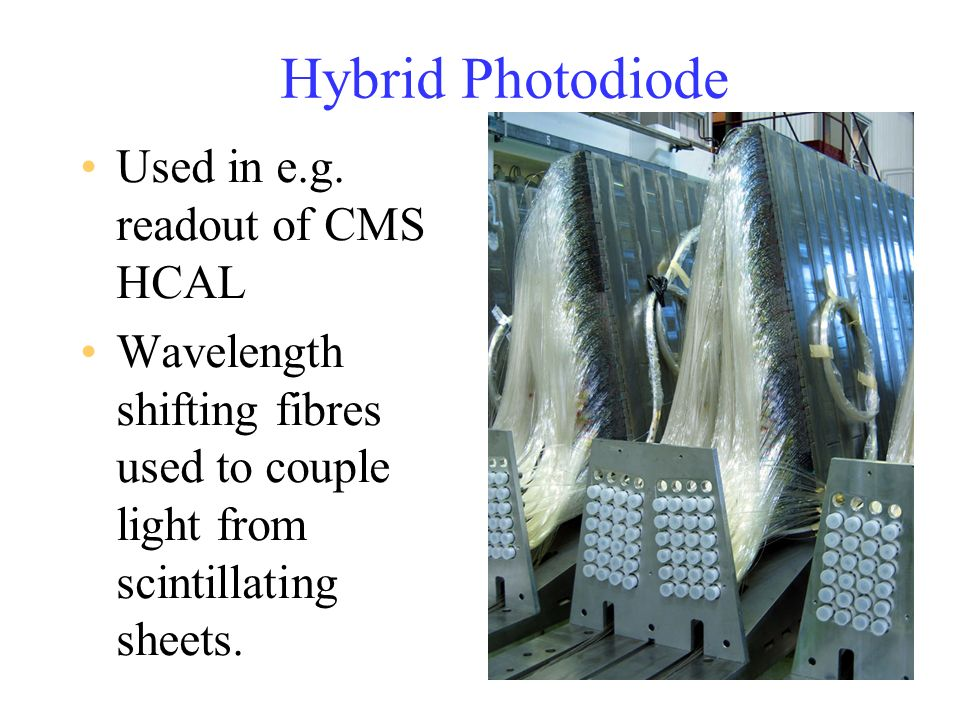 Hybrid Photodiode Used in e.g. readout of CMS HCAL