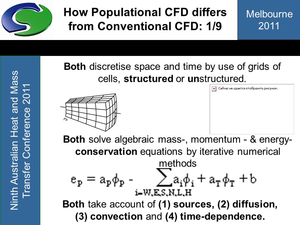 How Populational CFD differs from Conventional CFD: 1/9