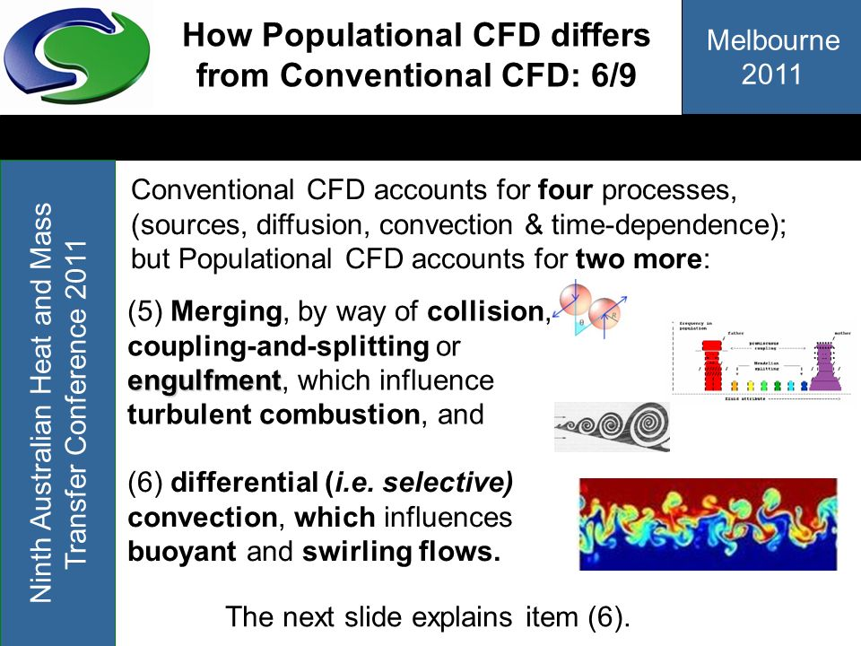 How Populational CFD differs from Conventional CFD: 6/9