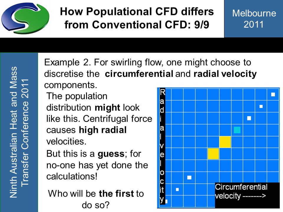How Populational CFD differs from Conventional CFD: 9/9