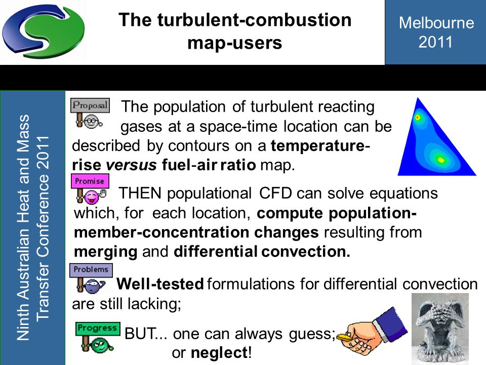 The turbulent-combustion