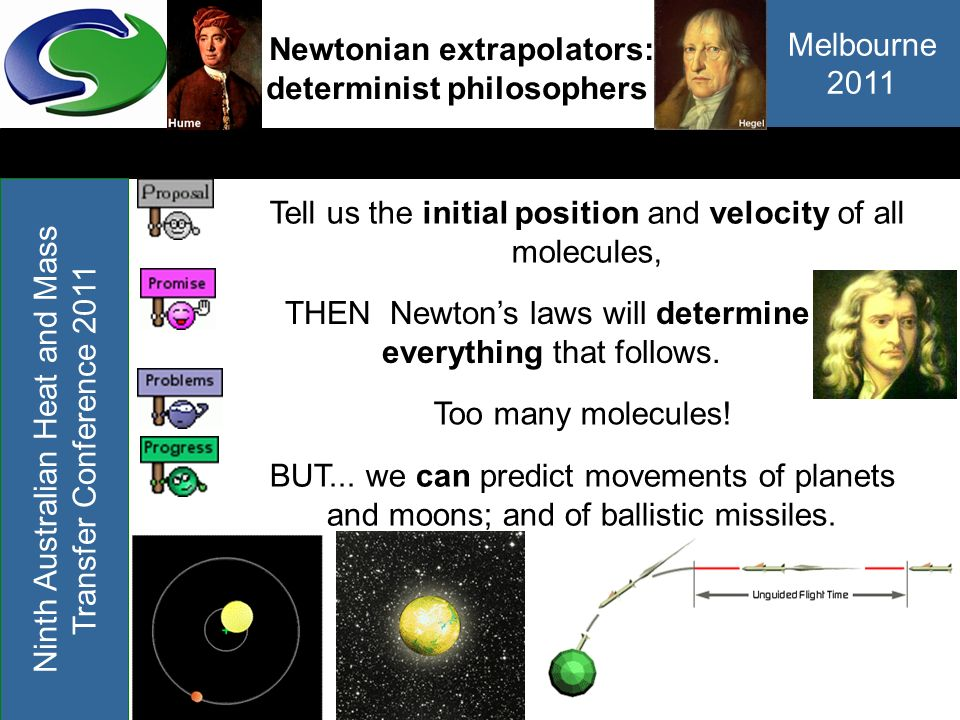 Newtonian extrapolators: determinist philosophers