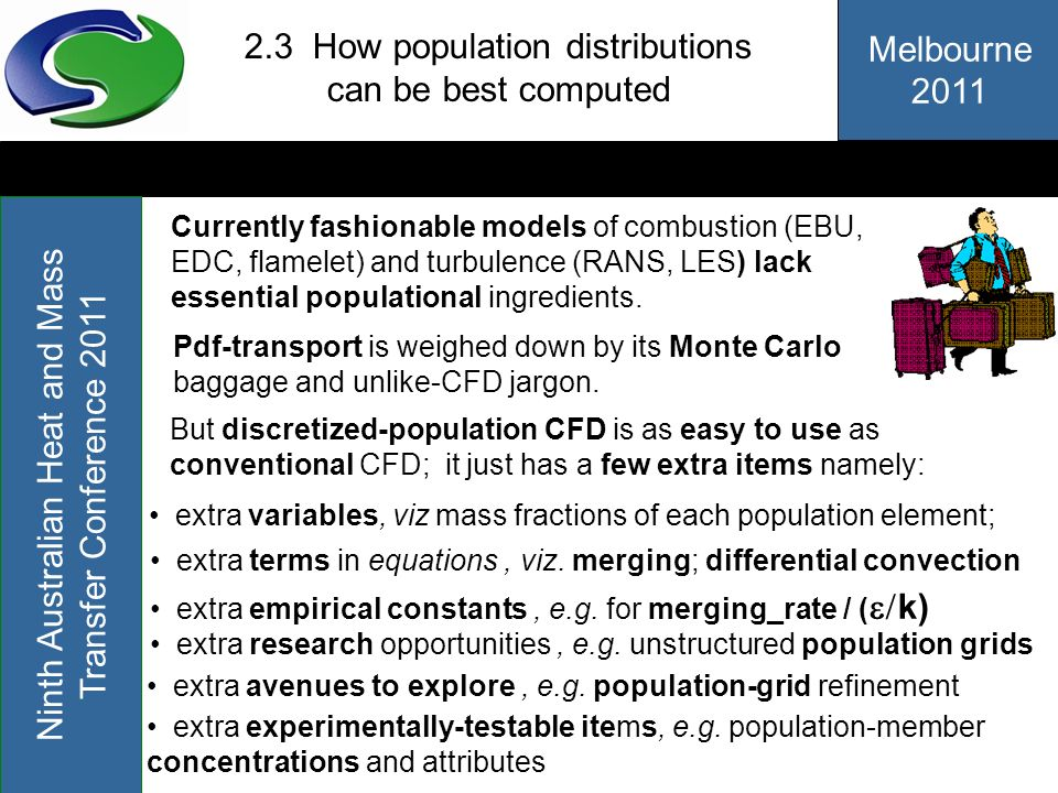 2.3 How population distributions can be best computed