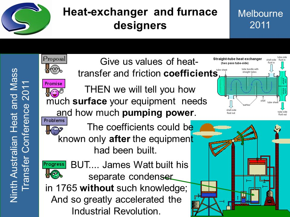 Heat-exchanger and furnace designers