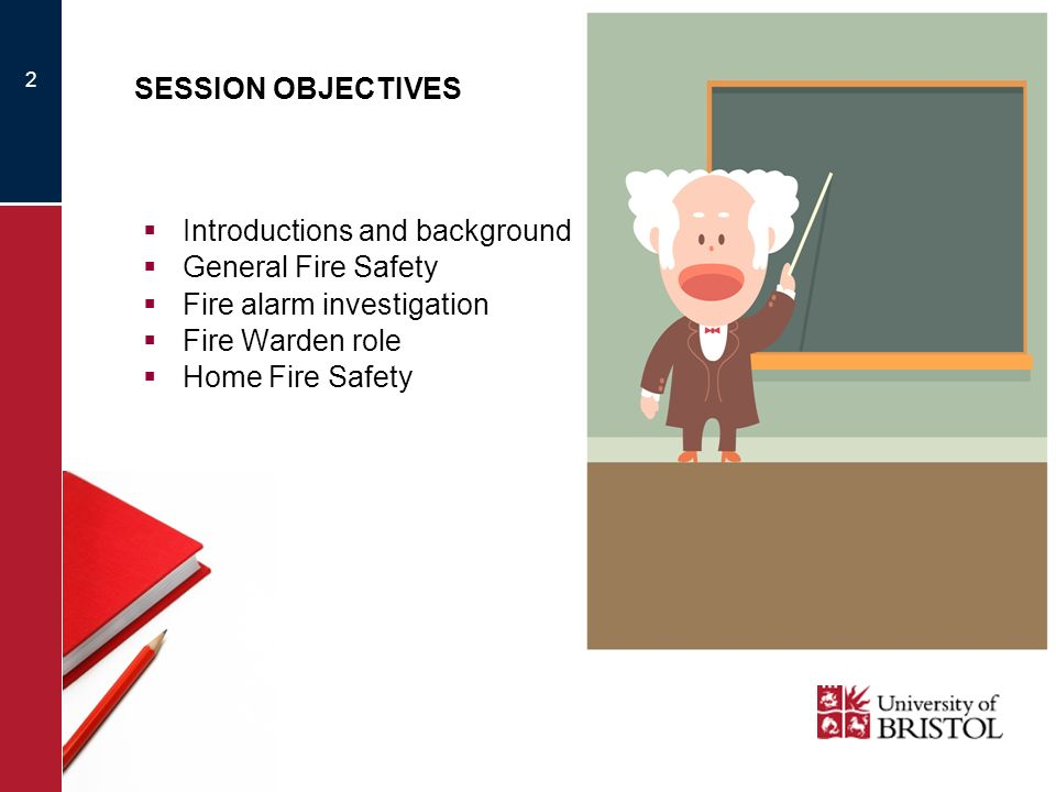 Introductions and background General Fire Safety