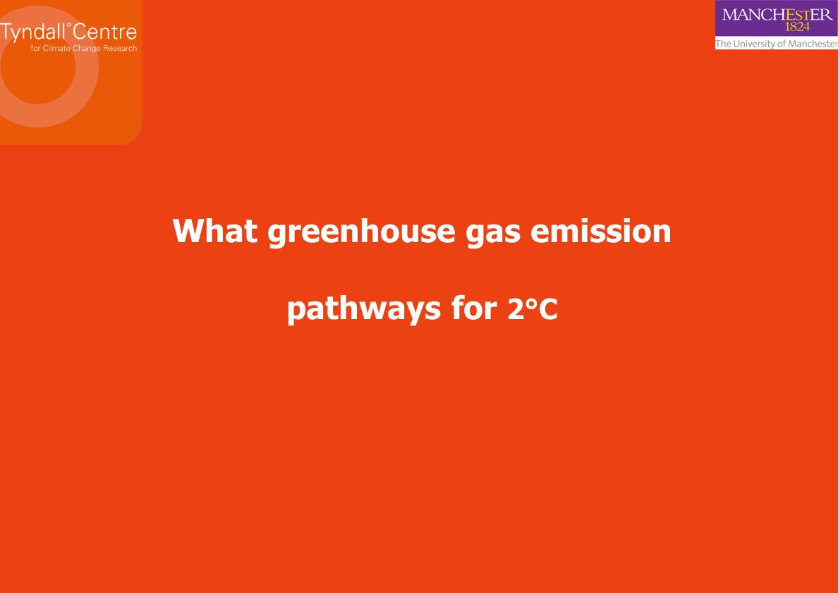 What greenhouse gas emission