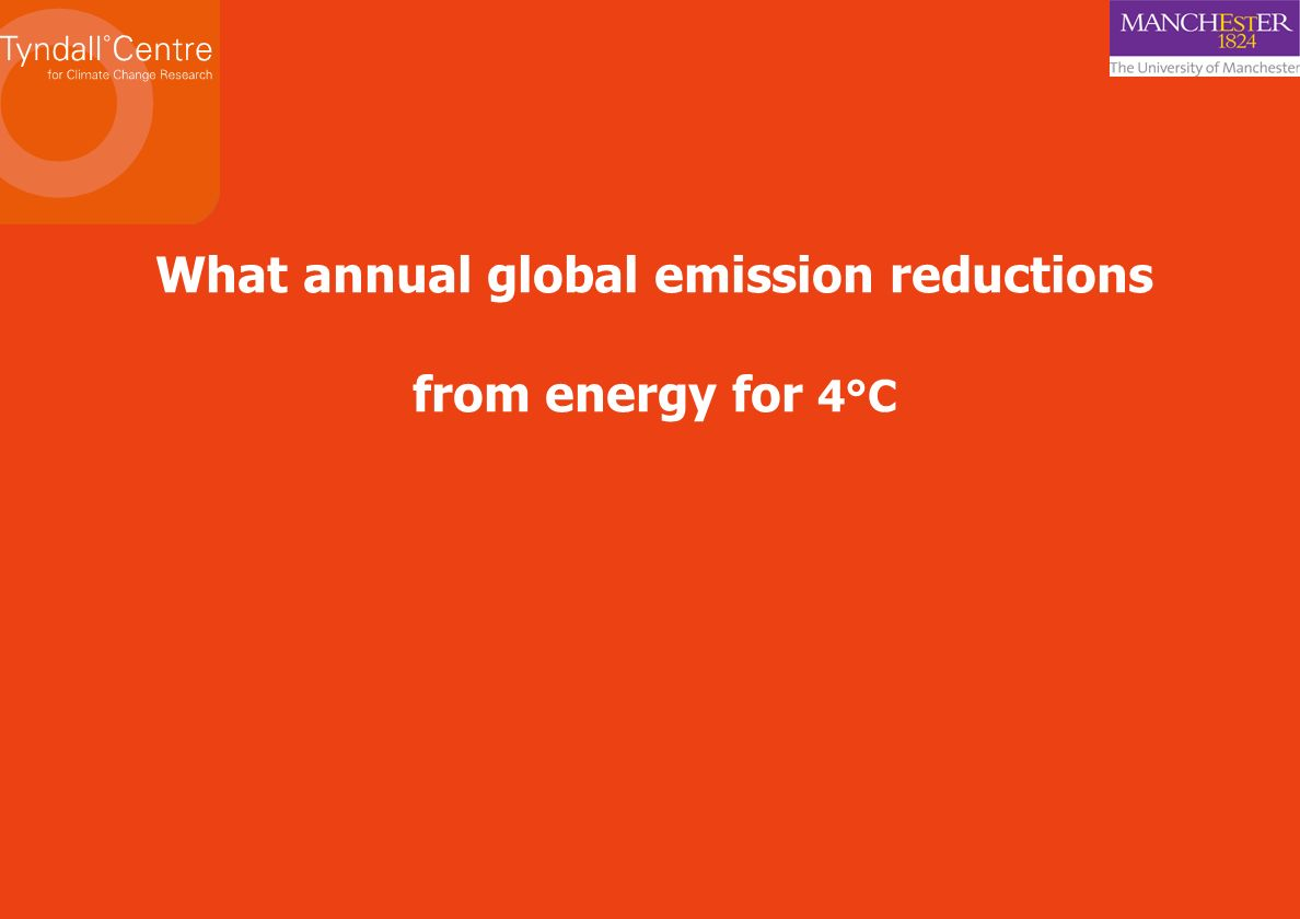 What annual global emission reductions