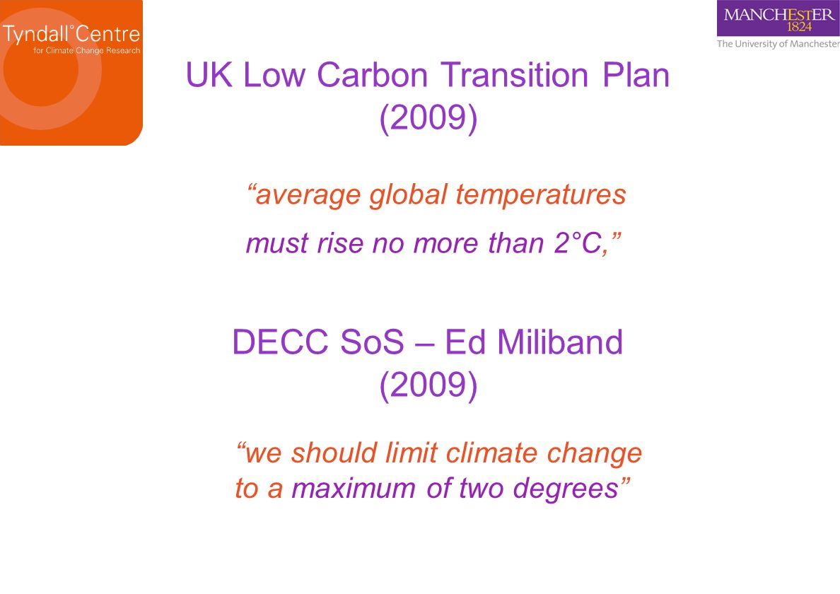 UK Low Carbon Transition Plan (2009)