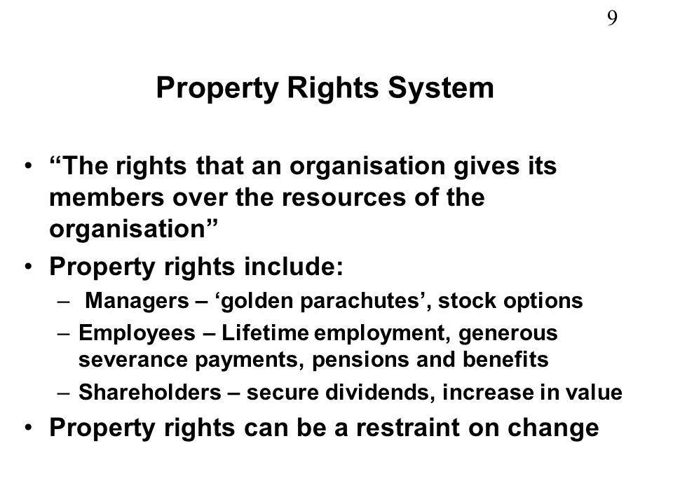 Property Rights System
